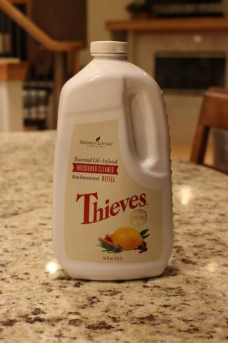 Thieves Essential Oils Cleaning Products